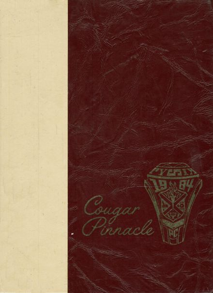 1984 Pulaski County High School Yearbook Cover