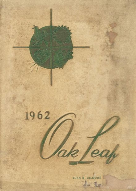 1962 Radford High School Yearbook Cover