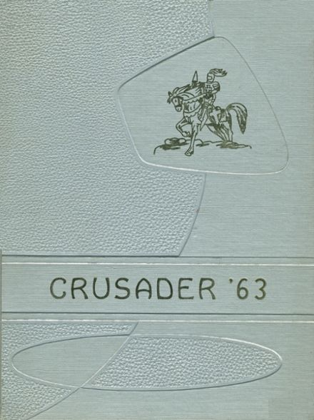 1963 St. Joseph's High School Yearbook Cover