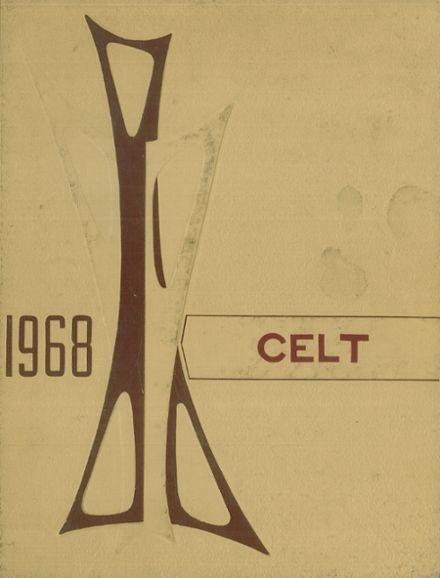 1968 St. Patrick's Girls High School Yearbook Cover