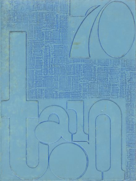 1970 Eisenhower High School Yearbook Cover