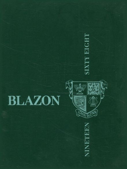 1968 John Glenn High School Yearbook Cover