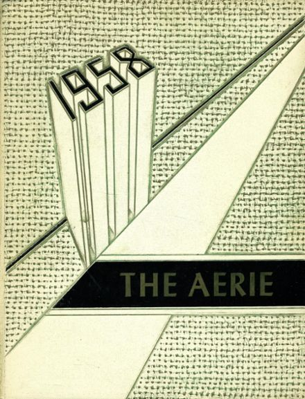 1958 Bozeman High School Yearbook Cover