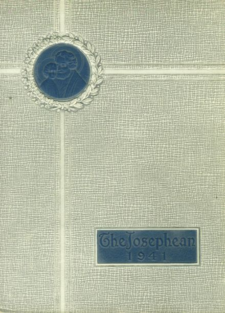 1941 St. Joseph's High School Yearbook Cover