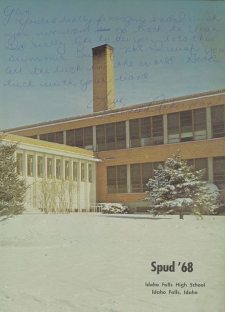... 1968 Idaho Falls High School Yearbook Page 7