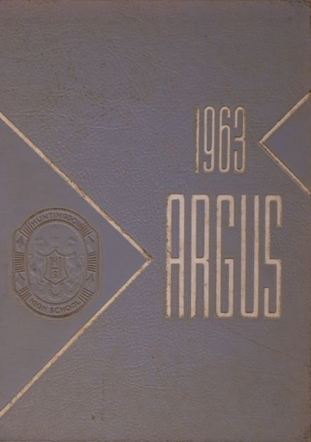 1963 Huntingdon Area High School Yearbook Cover