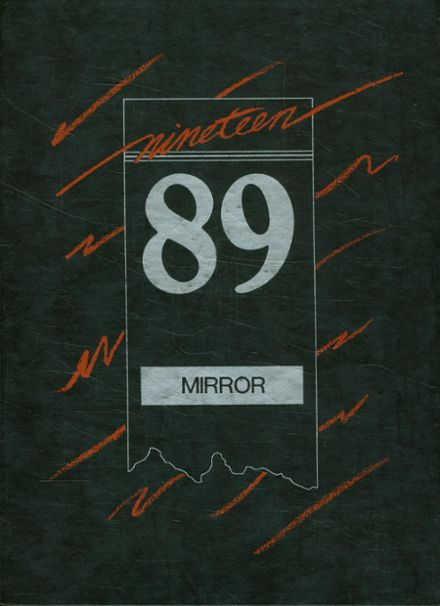 1989 Manual High School Yearbook Cover