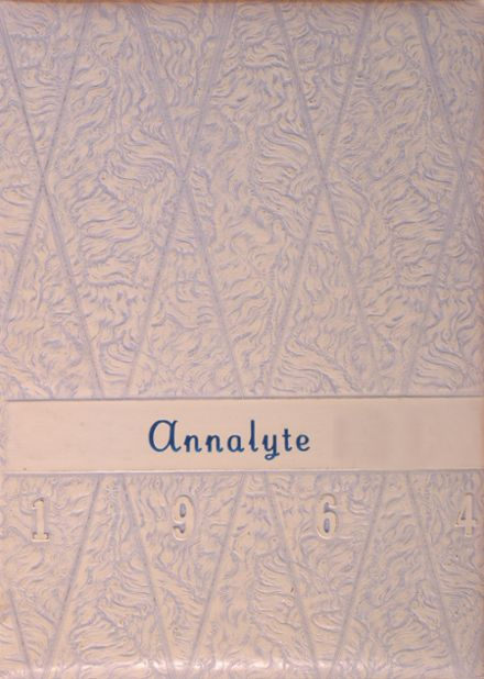 1964 St. Ann's High School Yearbook Cover