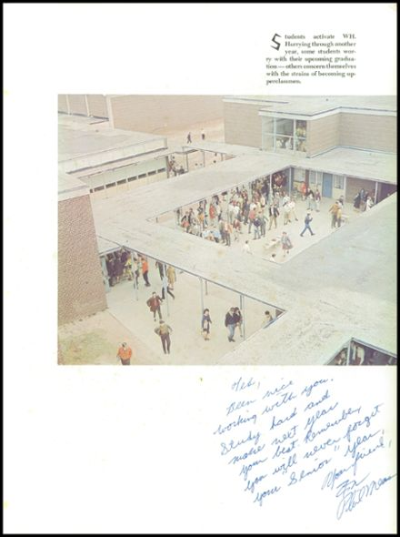 1968 Wade Hampton High School Yearbook Page 5