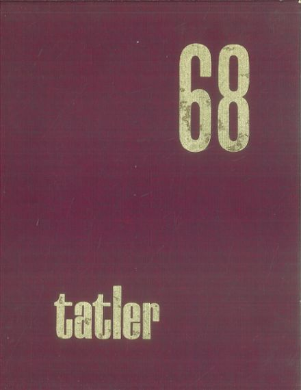 1968 William Penn High School Yearbook Cover