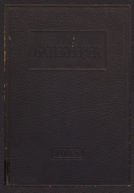 1925 St. Peter's High School Yearbook Cover
