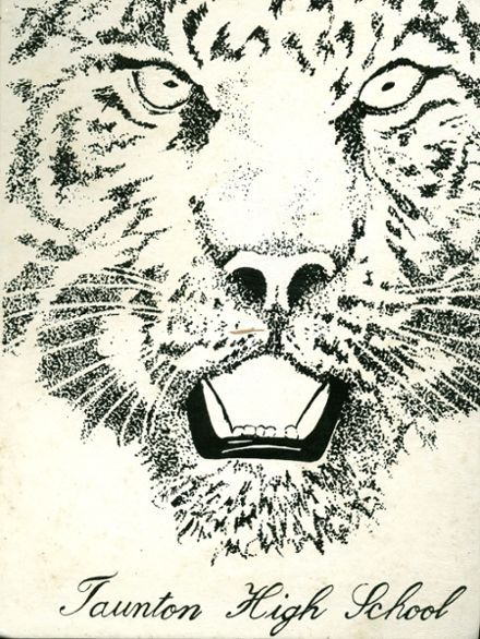 1985 Taunton High School Yearbook Cover