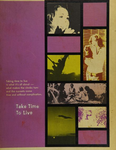1973 Pacific High School Yearbook Cover