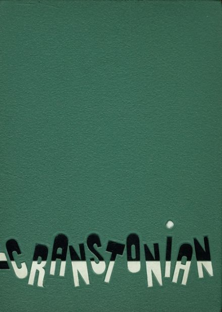 1960 Cranston High School East Yearbook Cover