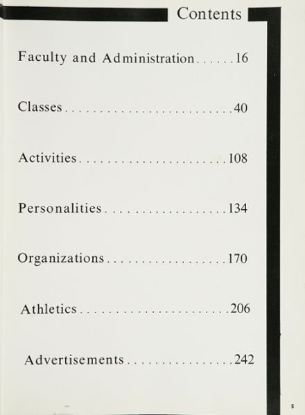 1963 Lee High School Yearbook Page 9
