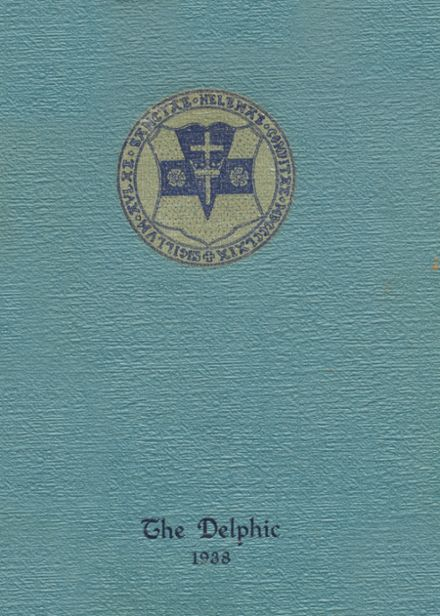 1938 St. Helen's Hall High School Yearbook Cover