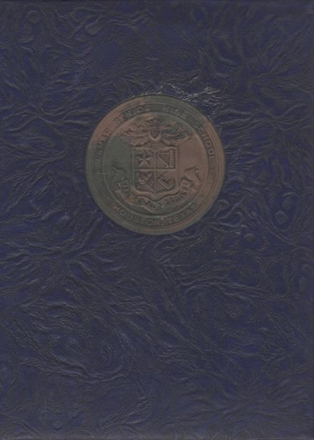 1947 Lamar High School Yearbook Cover