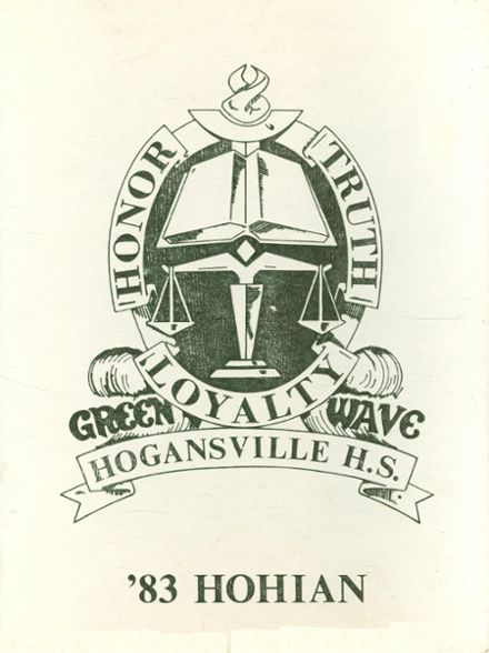 1983 Hogansville High School Yearbook Cover