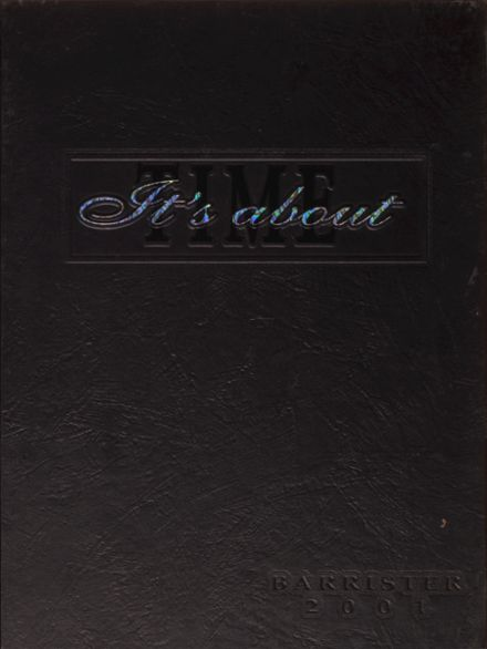 2001 John Marshall High School Yearbook Cover