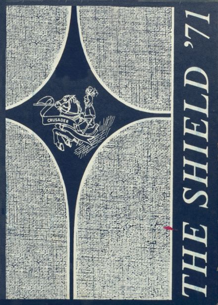 1971 St. John's High School Yearbook Cover