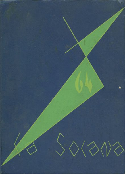 1964 Central Union High School Yearbook Cover