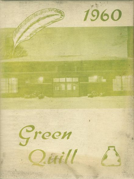 1960 Wethersfield High School Yearbook Cover