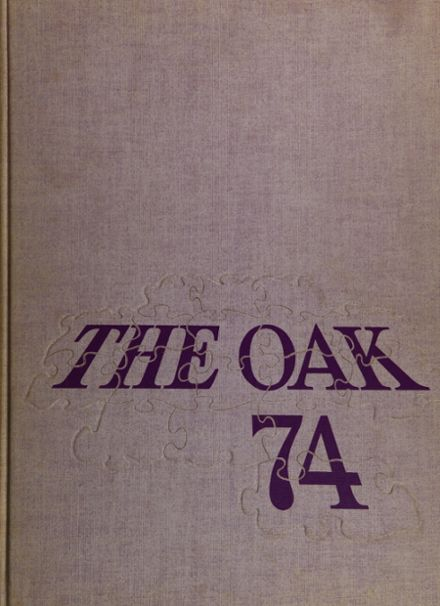 1974 Upper Darby High School Yearbook Cover