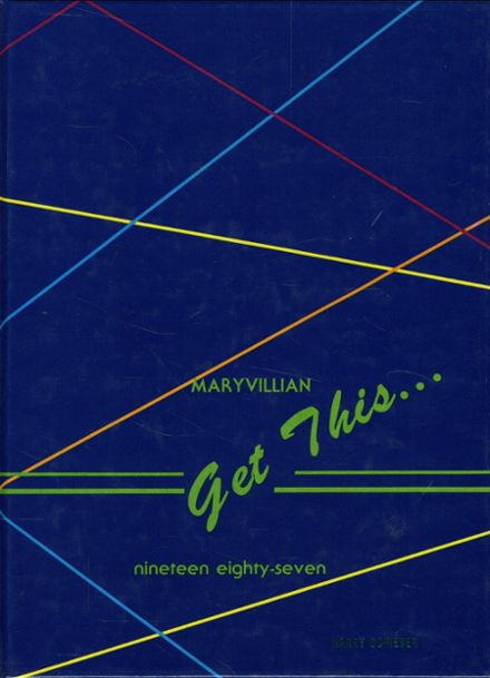 1987 Maryville High School Yearbook Cover