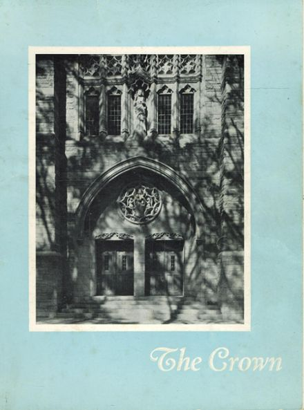 1946 St. Mary's Academy Yearbook Cover
