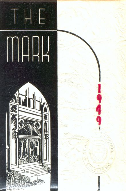 1949 St. Mark's Catholic School Yearbook Cover
