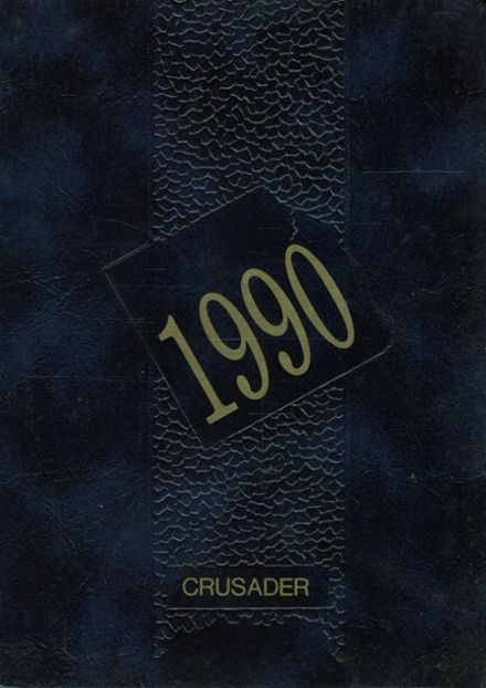 1990 St. Paul's High School Yearbook Cover