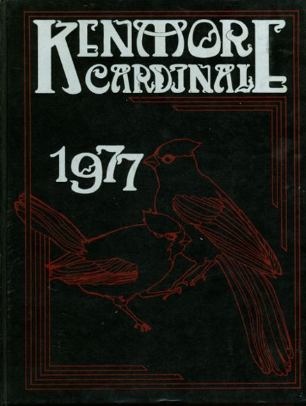 1977 Kenmore High School Yearbook Cover