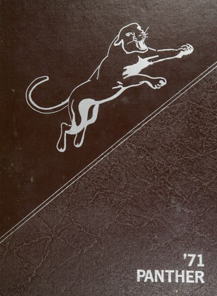 1971 West High School Yearbook Cover