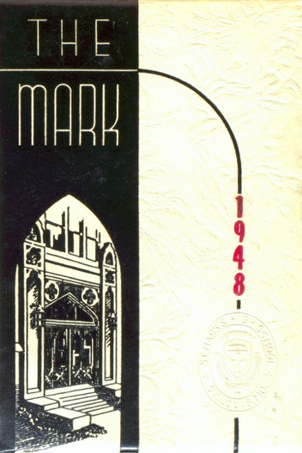1948 St. Mark's Catholic School Yearbook Cover