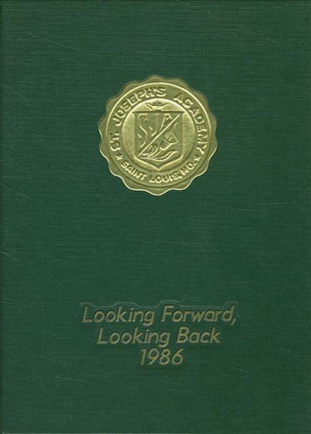 1986 St. Joseph's Academy Yearbook Cover