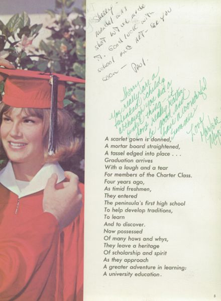 1965 Palos Verdes High School Yearbook Page 9