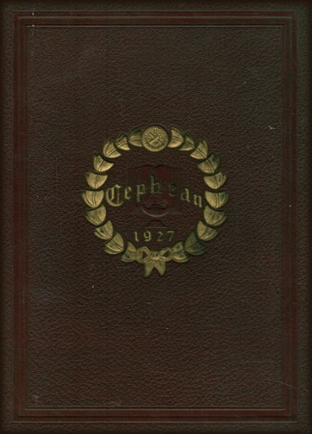 1927 St. Peter's Preparatory School Yearbook Cover