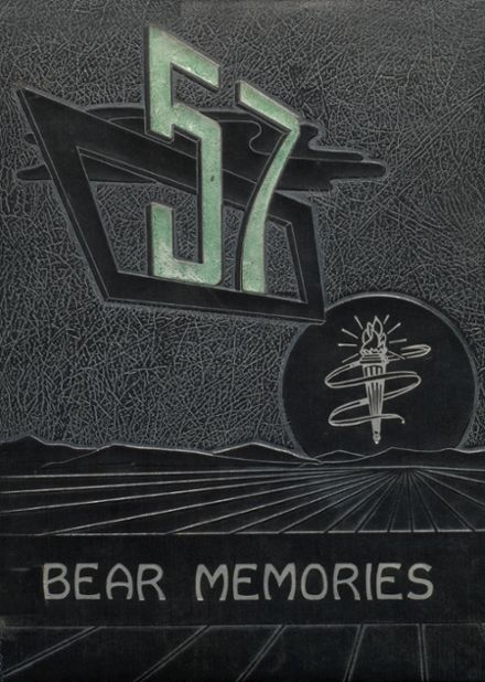 1957 Pharr-San Juan-Alamo High School Yearbook Cover