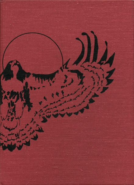 1975 Moscow High School Yearbook Cover