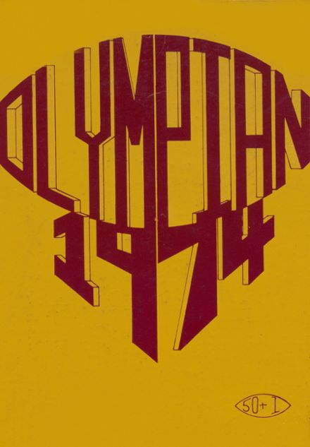 1974 O'Dea High School Yearbook Cover