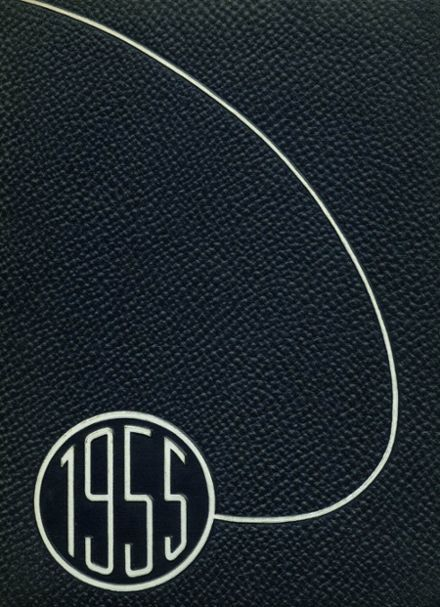 1955 Grand Haven High School Yearbook Cover
