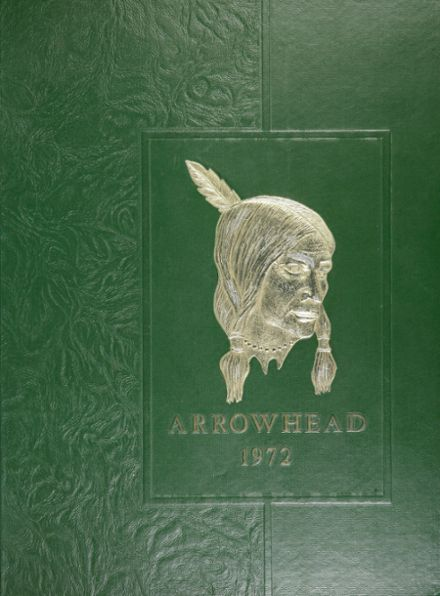 1972 Brentwood High School Yearbook Cover