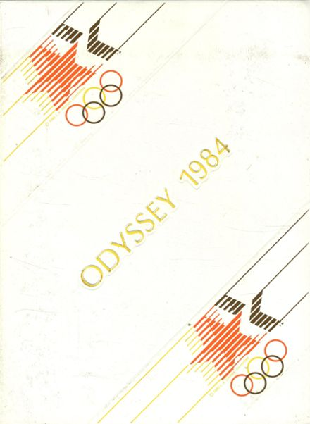 1984 Sprague High School Yearbook Cover