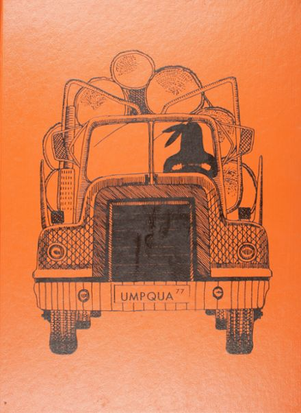 1977 Roseburg High School Yearbook Cover
