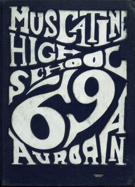 1969 Muscatine High School Yearbook Cover