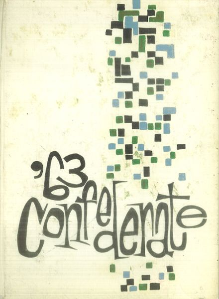 1963 San Lorenzo High School Yearbook Cover