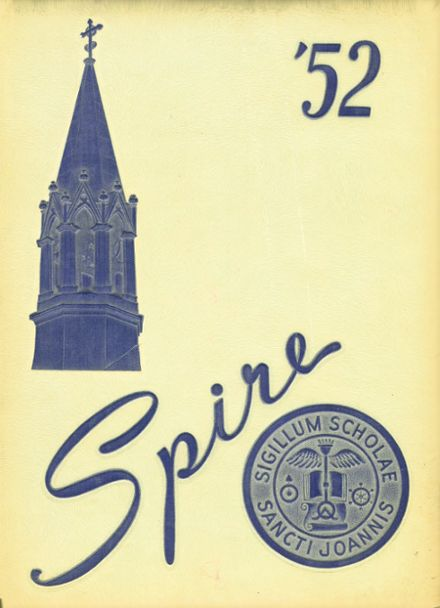 1952 St. John's Preparatory Yearbook Cover