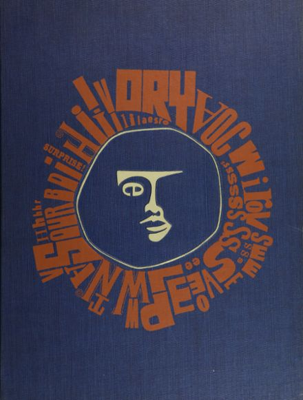 1966 University High School Yearbook Cover