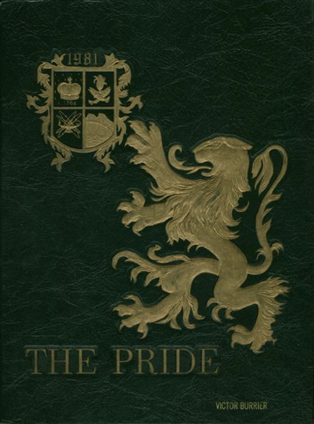 1981 Queen Anne's County High School Yearbook Cover