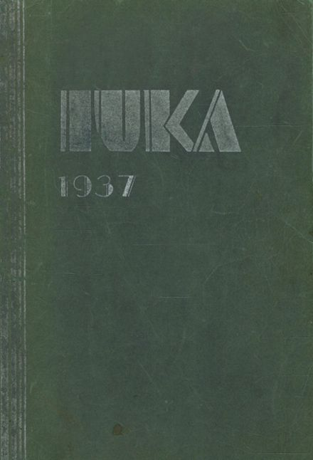 1937 Tama High School Yearbook Cover